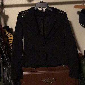 Adorable studded blazer